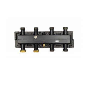 Распределительный коллектор ECO 3 из черной стали на 3 контура, до 55 кВт Huch EnTEC 105.02.020.09