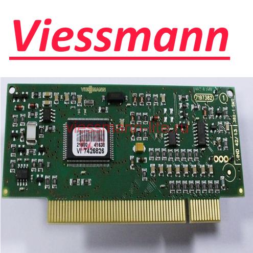 Электронная плата для Vitotronic GC GW HK (7831930)  для автоматики марки Viessmann