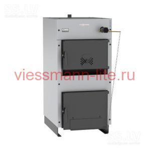 Твердотоплевный котел Viessmann WBS LIGNA 50, 25 кВт