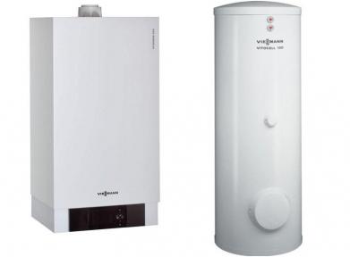 Vitodens 200-W 49 кВт+ 200 л Бойлер Vitocell 100-W CVА 200 л Пакетное предложение  Viessmann B2HAP77