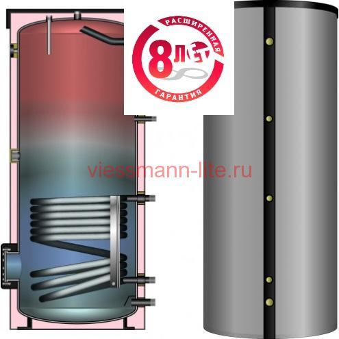 Бойлер косвенного нагрева Huch EnTEC TBS-BASIC 200 л с изоляцией
