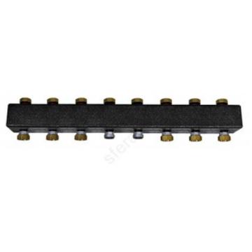 Заспределительный коллектор из черной стали до 7 контура, до 85 кВт Huch EnTEC  105.07.032.01