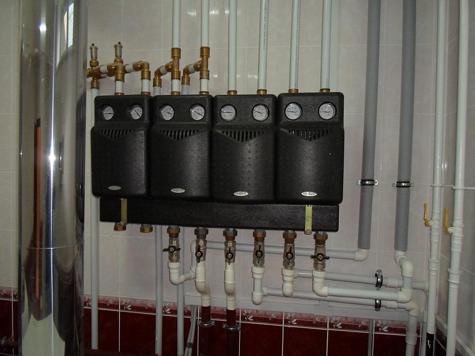 Монтаж систем отопления внутренняя канализация