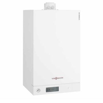 Viessmann Vitodens 100-W 6,5 — 26 кВт; Сжиженный газТурбированный; Двухконтурный ; B1KC034 Настенный газовый конденсационный котел